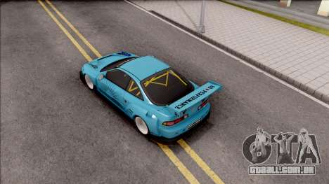 Honda Integra R Integranpa Concept para GTA San Andreas vista traseira