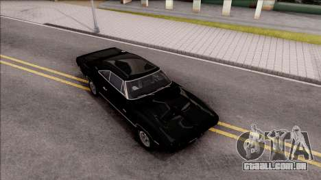 Dodge Charger RT 1970 para GTA San Andreas vista direita