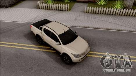 Mitsubishi L200 Triton para GTA San Andreas vista direita