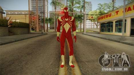 Marvel Ultimate Alliance 2 - Iron Spider v2 para GTA San Andreas segunda tela