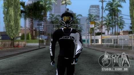 Motorcyclist Skin para GTA San Andreas
