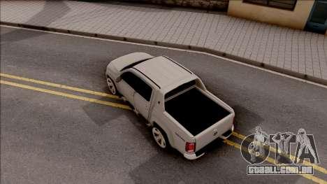 Volkswagen Amarok 4Motion 2017 para GTA San Andreas vista traseira
