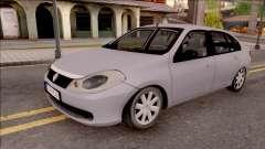 Renault Symbol 2009 Authentique Version para GTA San Andreas