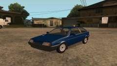 VAZ-2108 no rádio para GTA San Andreas