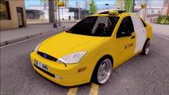 Ford Focus Mk1 Turkish Taxi para GTA San Andreas