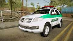Toyota Fortuner Ponal Colombia para GTA San Andreas