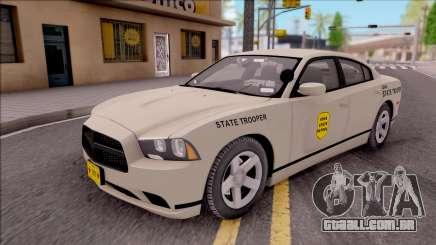 Dodge Charger Slicktop 2012 Iowa State Patrol para GTA San Andreas