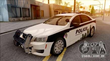 Chevrolet Caprice 2013 Los Santos PD v1 para GTA San Andreas