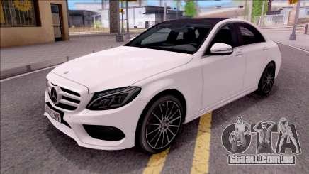 Mercedes-Benz C250 AMG Line para GTA San Andreas