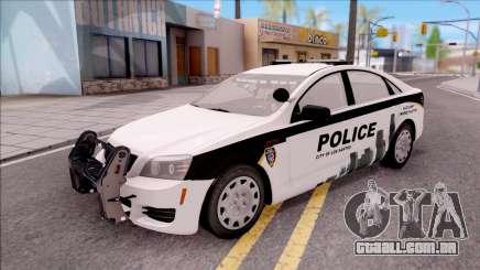 Chevrolet Caprice 2013 Los Santos PD v3 para GTA San Andreas