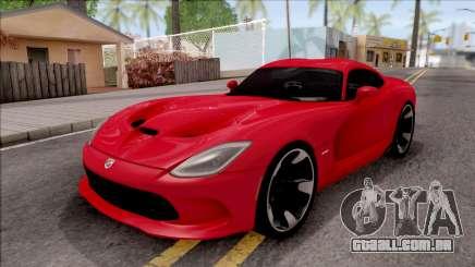Dodge SRT Viper GTS 2012 para GTA San Andreas