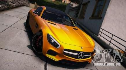 Mercedes-Benz AMG GT S 2016 para GTA 5