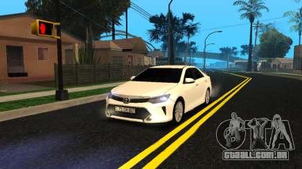 Toyota Camry 2016 Armenian para GTA San Andreas