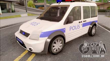 Ford Tourneo Connect 90PS Turkish Police para GTA San Andreas