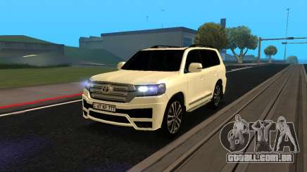 Toyota Land Cruiser 200 2017 Armenian para GTA San Andreas