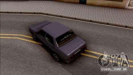 Tofas Sahin para GTA San Andreas vista traseira