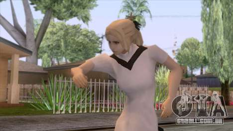 Female Sweater One Piece v4 para GTA San Andreas