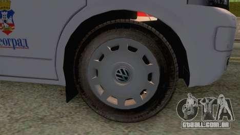 Volkswagen T5 Serbian Ambulance para GTA San Andreas