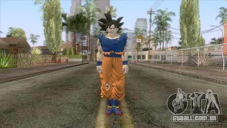 Goku Ultra Instinct Skin para GTA San Andreas segunda tela