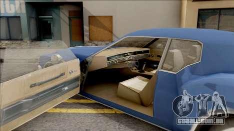 Driver PL Cerva para GTA San Andreas vista interior