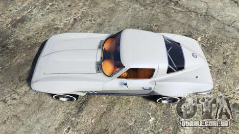GTA 5 Chevrolet Corvette Sting Ray (C2) [replace] voltar vista