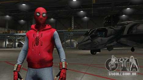 Spider-Man Home-Made Suit para GTA 5