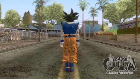 Goku Ultra Instinct Skin para GTA San Andreas terceira tela