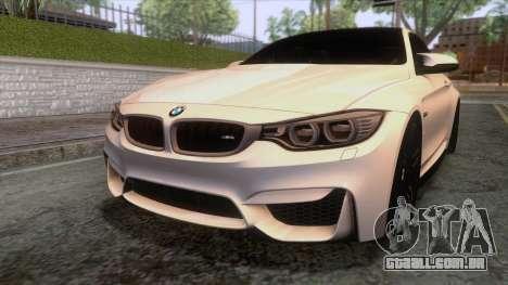 BMW M4 GTS High Quality para vista lateral GTA San Andreas