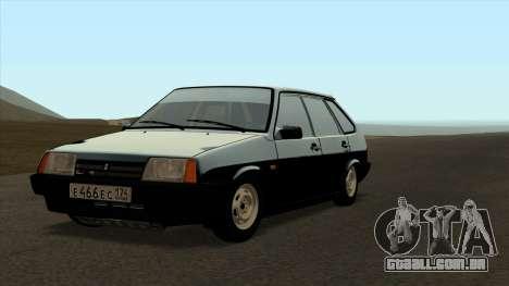VAZ 2109 para o original para GTA San Andreas