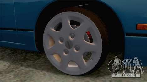 Nissan 240SX Stock FM7 para GTA San Andreas vista traseira