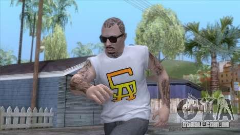 Outfit Gangsta - Skin Random v21 para GTA San Andreas