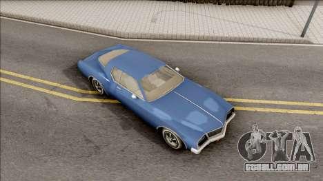 Driver PL Cerva para GTA San Andreas vista direita