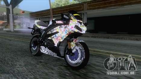 Kawasaki Ninja ZX-6R BoomCustom para GTA San Andreas