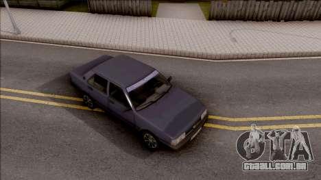 Tofas Sahin para GTA San Andreas vista direita
