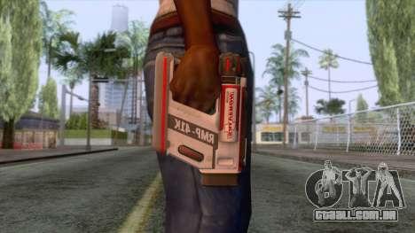 Evolve - Medic Gun para GTA San Andreas terceira tela