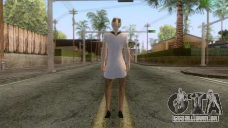Female Sweater One Piece v6 para GTA San Andreas terceira tela
