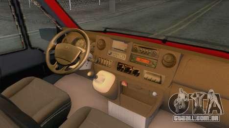 Fiat Ducato Mk2 1999 para GTA San Andreas vista traseira