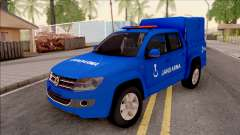Volkswagen Amarok Turkish Gendarmerie Vehicle para GTA San Andreas