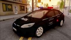 Ford Focus De Operações Especiais, Veículos Civis para GTA San Andreas
