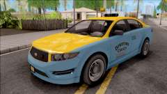 GTA V Vapid Unnamed Taxi IVF para GTA San Andreas