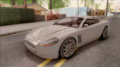 GTA IV Dewbauchee Super GT para GTA San Andreas
