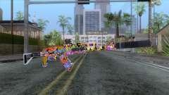 CoD: Black Ops II - AK-47 Graffiti Skin v2 para GTA San Andreas