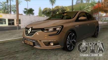 Renault Megane 4 Sedan 2017 para GTA San Andreas