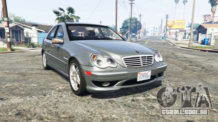 Mercedes-Benz C32 AMG (W203) 2004 [replace] para GTA 5