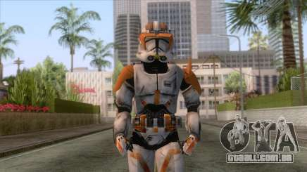 Star Wars JKA - Commander Cody Skin para GTA San Andreas