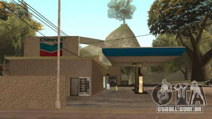 Chevron Gas Station para GTA San Andreas
