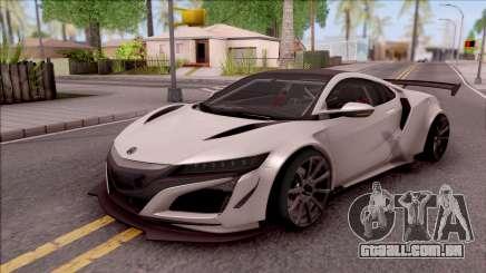 Acura NSX Forza Ediiton para GTA San Andreas