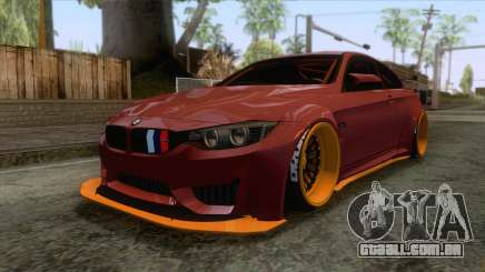 BMW M4 F82 GTS LB Performance 2015 para GTA San Andreas