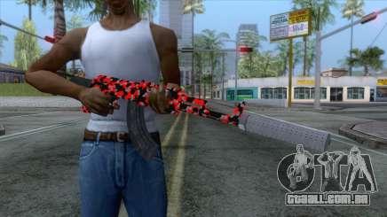 AK-47 Camo para GTA San Andreas