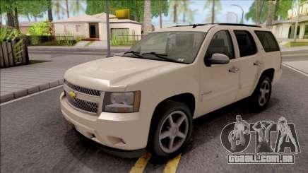 Chevrolet Tahoe LTZ 2008 para GTA San Andreas